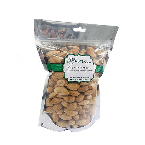 بادام ارگانیک ایرانی با پوست ناتس کالا خشکبار قیمت Kernelo nutskala Almond wholesale nuts bazaar mamra