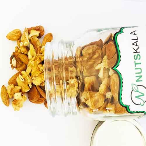 mix nuts kernelo nutskala میکس مغز گردو بادام ناتس کالا